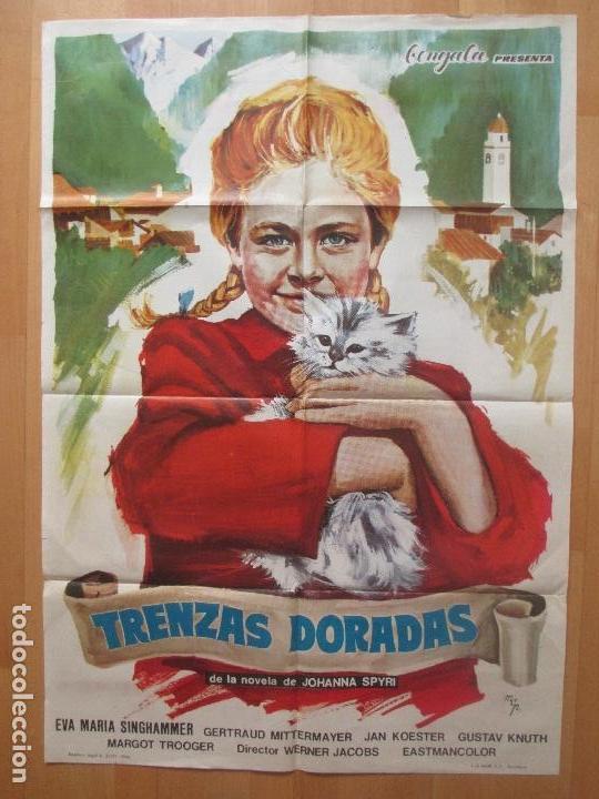 CARTEL CINE, TRENZAS DORADAS, EVA MARIA SINGHAMMER, MCP, 1966, C1239 (Cine - Posters y Carteles - Series TV)