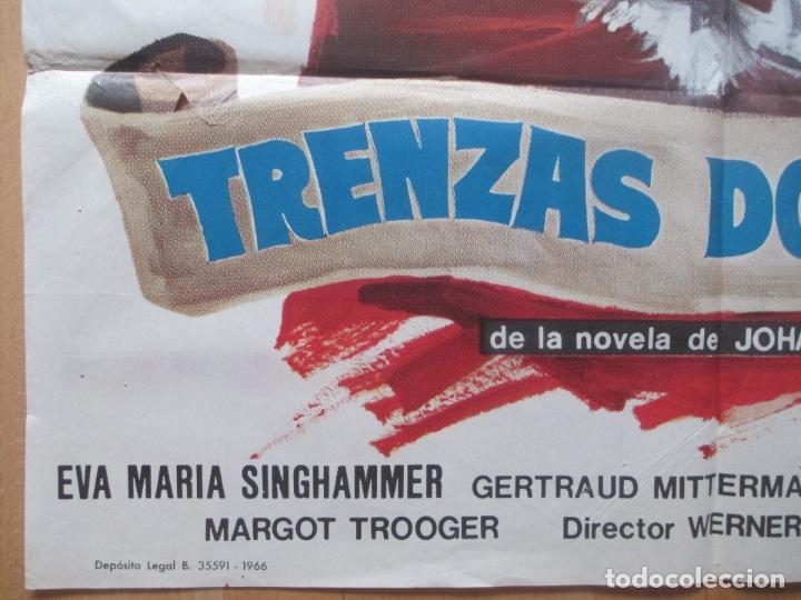 Cine: CARTEL CINE, TRENZAS DORADAS, EVA MARIA SINGHAMMER, MCP, 1966, C1239 - Foto 2 - 106002035