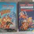 Cine: 2 VHS - CHIP Y CHOP GUARDIANES RESCATADORES - AUDIO ORIGINAL LATINO TVE + COPIA OPCIONAL EN DVD. Lote 107209567