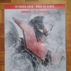 Cine: MAZINGER Z INFINITY PELÍCULA CARTEL ORIGINAL ESTRENO. Lote 119323819