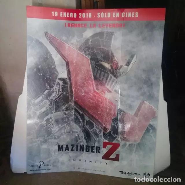 MAZINGER Z INFINITY CARTEL PHOTOCALL ESTRENO (Cine - Posters y Carteles - Series TV)