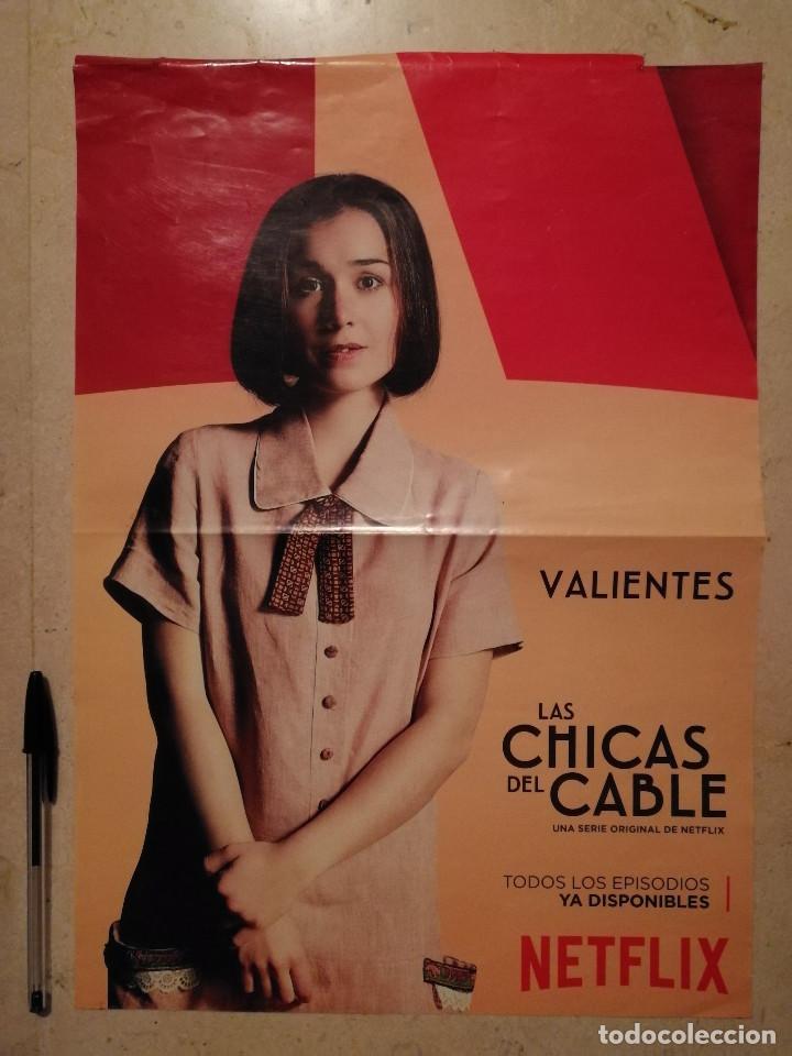 POSTER ORIGINAL -A3- LAS CHICAS DEL CABLE - NADIA DE SANTIAGO - SERIES (Cine - Posters y Carteles - Series TV)