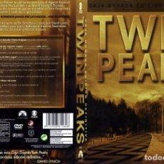 Cine: TWIN PEAKS (CAJA DORADA, EDICIÓN DEFINITIVA) . Lote 133836070