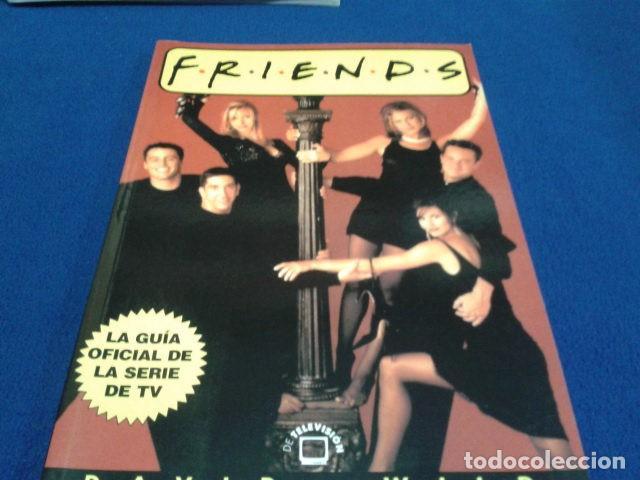 LIBRO EDITORIAL LA MASCACARA (F-R-I-E-N-D-S )1999 DE DAVID WILD LA GUIA OFICIAL DE LA SERIE DE TV (Cine - Posters y Carteles - Series TV)