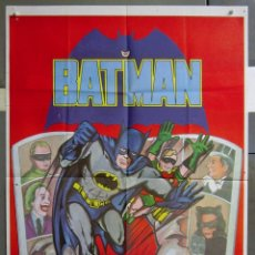 Cine: ZA41 BATMAN ADAM WEST COMIC TV SERIES POSTER ORIGINAL 70X100 ESTRENO. Lote 139194850