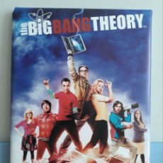 Cine: CUADRO CARTEL SERIE THE BIG BANG THEORY. Lote 146548112