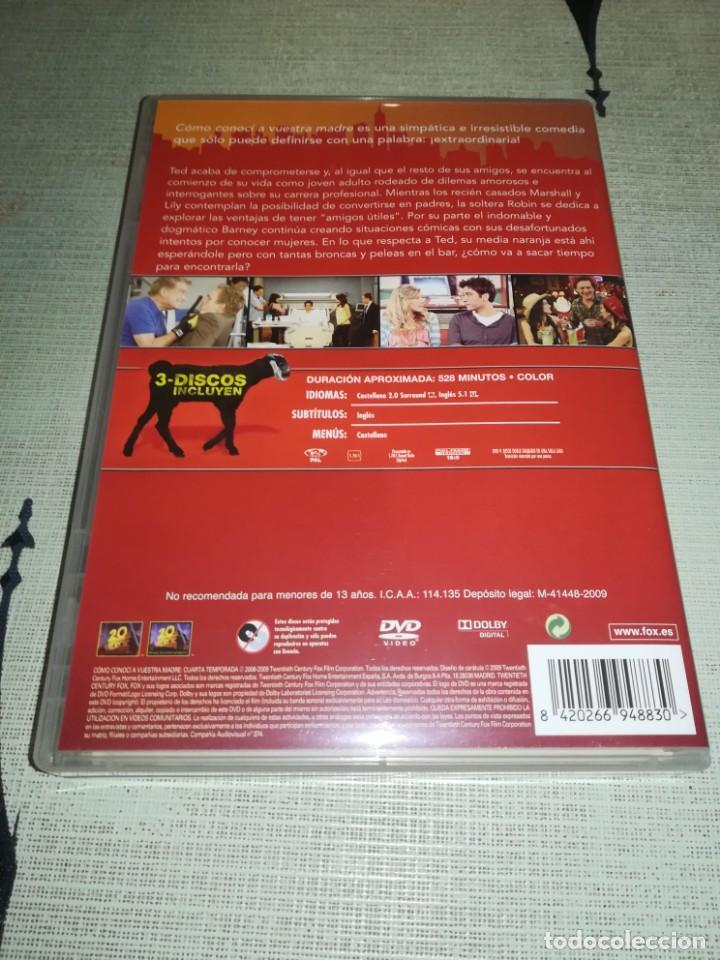 Cine: DVD - CÓMO CONOCÍ A VUESTRA MADRE - 4º TEMPORADA COMPLETA - 4DVD - Foto 5 - 151543598