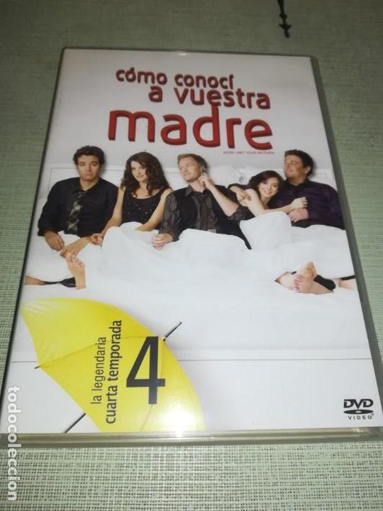 DVD - CÓMO CONOCÍ A VUESTRA MADRE - 4º TEMPORADA COMPLETA - 4DVD (Cine - Posters y Carteles - Series TV)