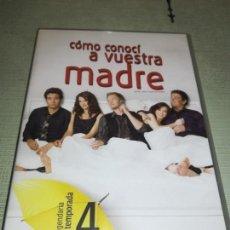 Cine: DVD - CÓMO CONOCÍ A VUESTRA MADRE - 4º TEMPORADA COMPLETA - 4DVD. Lote 151543598