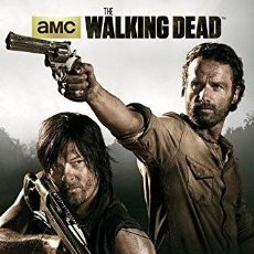 Cine: THE WALKING DEAD - RICK GRIMES & DARYL DIXON (POSTER). Lote 153373354