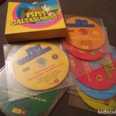 Cine: PIPI CALZASLARGAS - SERIE COMPLETA - 21 CAPITULOS - 7 DVD. Lote 165283046