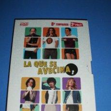 Cinéma: LA QUE SE AVECINA TEMPORADA 8 - 2 PARTE 6 DVD NUEVO PRECINTADO (ENVIÓ CERTIFICADO A ESPAÑA 2 EUROS) . Lote 165619006
