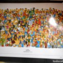 Cine: PÓSTER THE SIMPSONS ( PERSONAJES ). Lote 166879972
