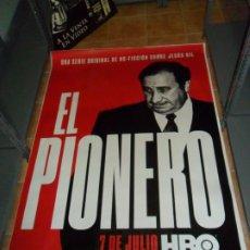 Cine: EL PIONERO, JESÚS GIL. ATLÉTICO DE MADRID. HBO. 175X118 CMS.. Lote 245013485