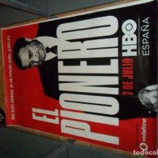 Cine: EL PIONERO, JESÚS GIL. ATLÉTICO DE MADRID. HBO. 175X118 CMS.. Lote 170852715