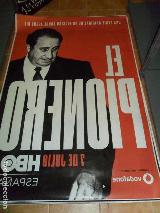 Cine: EL PIONERO, JESÚS GIL. ATLÉTICO DE MADRID. HBO. 175X118 CMS. - Foto 2 - 245013485