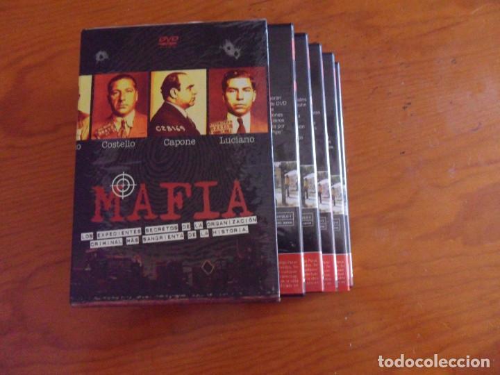 MAFIA LOS EXPEDIENTES SECRETOS DE LA ORGANIZACION....... SERIE COMPLETA EN 5 DVD (Cine - Posters y Carteles - Series TV)