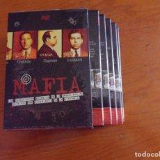 Cine: MAFIA LOS EXPEDIENTES SECRETOS DE LA ORGANIZACION....... SERIE COMPLETA EN 5 DVD. Lote 171736509
