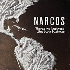 Cine: NARCOS (POSTER). Lote 177086320