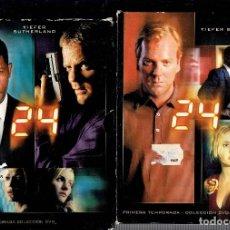 Cine: 24 TEMPORADAS 1-2-3 Y CUARTA EN DVD,COMPLETAS. Lote 177550774