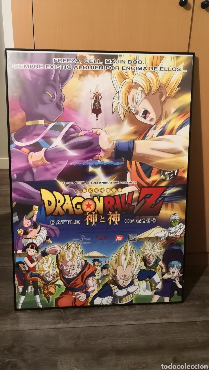 Cine: Póster original del estreno en cine de Dragon Ball la batalla de los dioses - película anime - Foto 2 - 179071448