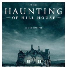 Cine: THE HAUNTING OF HILL HOUSE. LA MALDICIÓN DE HILL HOUSE. LÁMINA CARTEL. 45 X 32 CMS.. Lote 184266450