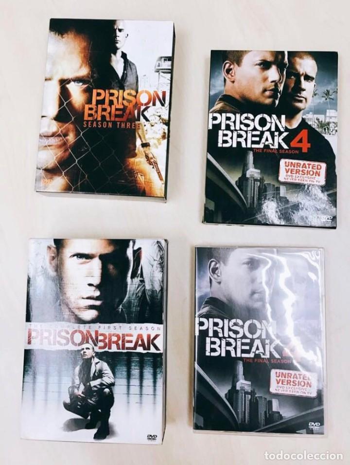 PRISON BREAK - 4 TEMPORADAS COMPLETAS (Cine - Posters y Carteles - Series TV)