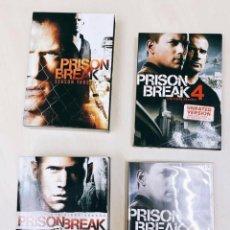 Cine: PRISON BREAK - 4 TEMPORADAS COMPLETAS. Lote 186100298