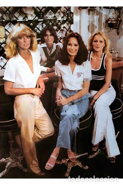 ANGELES CHARLIE KATE JACKSON FARRAH FAWCETT JACLYN SMITH CHERYL LADD CHARLIE´S ANGELS 1978 FOTO (Cine - Posters y Carteles - Series TV)