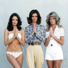Cine: ANGELES CHARLIE KATE JACKSON FARRAH FAWCETT JACLYN SMITH CHARLIE´S ANGELS FOTO 20X26 CM. Lote 189529737