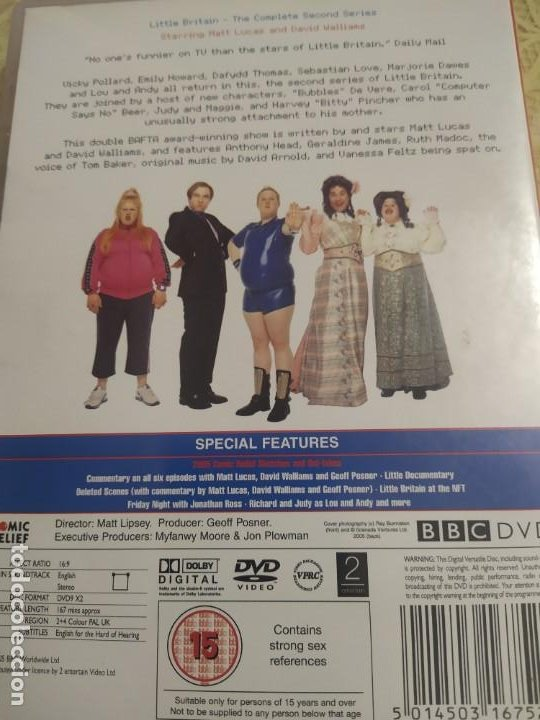Cine: Little Britain. The Complete Second Series. - Foto 2 - 193442075