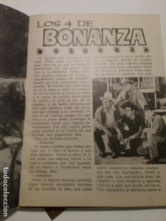 Cine: Librito Figuras de la T.V. BONANZA - Foto 2 - 197473203