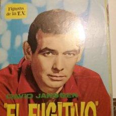 Cine: LIBRITO FIGURAS DE LA T.V. EL FUGITIVO BIOGRAFIA ILUSTRADA. Lote 197474227