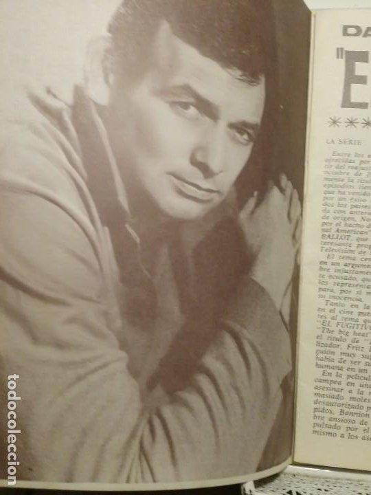 Cine: Librito Figuras de la T.V. El Fugitivo biografia ilustrada - Foto 2 - 197474227