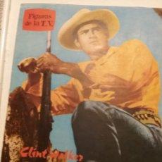 Cine: FIGURAS DE LA T.V. CHEYENNE CLINT WALKER. Lote 197475625