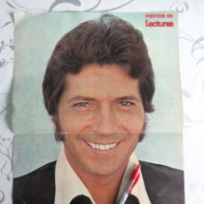 Cine: POSTER ANTIGUO REVISTA LECTURAS. SANCHO GRACIA - CURRO JIMENEZ - SERIE TV 1975. Lote 199283166