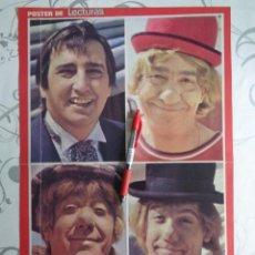 Cine: LOS PAYASOS DE LA TELE ( GABY, FOFÓ, MILIKI, FOFITO ) --PÓSTER DE 1975. Lote 199283653