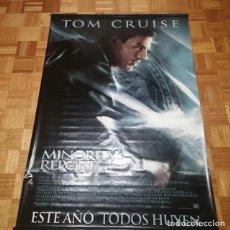 Cine: POSTER CINE TOM CRUISE MINORITY REPORT EN TELA. Lote 200620136