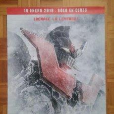 Cine: MAZINGER Z INFINITY PELÍCULA CARTEL ORIGINAL ESTRENO. Lote 201468280