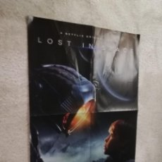 Cine: PÓSTER REVERSIBLE: LOST IN SPACE / ANNIHILATION - MEDIDAS APROXIMADAS: 58 X 40 CM. - PESO: 24 GRAMOS. Lote 206133882