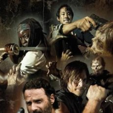 Cine: THE WALKING DEAD - PERSONAJES (POSTER). Lote 210289723