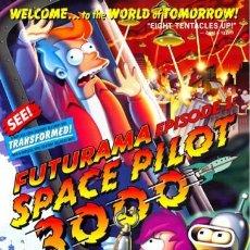 Cine: FUTURAMA - EPISODIO 1 (POSTER). Lote 210289743