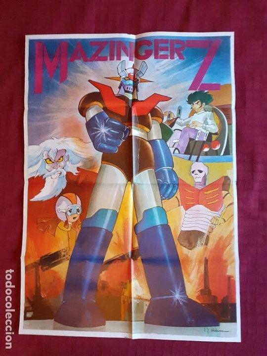 POSTER MAZINGER Z. AÑO 1978. INFOTO. (Cine - Posters y Carteles - Series TV)