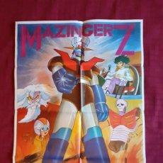 Cinema: POSTER MAZINGER Z. AÑO 1978. INFOTO.. Lote 221141436