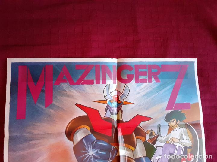 Cine: POSTER MAZINGER Z. Año 1978. INFOTO. - Foto 2 - 221141436