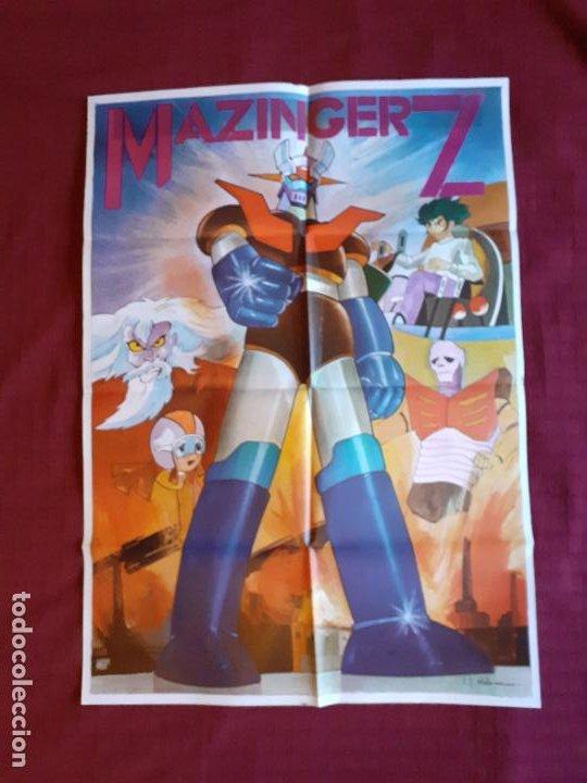 Cine: POSTER MAZINGER Z. Año 1978. INFOTO. - Foto 3 - 221141436