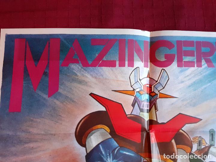 Cine: POSTER MAZINGER Z. Año 1978. INFOTO. - Foto 11 - 221141436