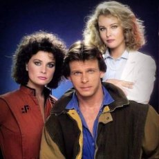 Cine: V SERIE TV LOS VISITANTES FACE GRANT JANE BADLER MARC SINGER FOTO PHOTO.. Lote 233778520