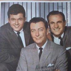 Cine: CANAL TV ARGENTINA LAMINA CENTRAL ACTORES USA. 1960 ENVIO INCLUIDO EN EL VALOR FINAL. Lote 234536000