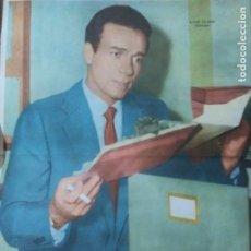 Cine: CANAL TV ARGENTINA LAMINA CENTRAL ACTORES USA. 1960 ENVIO INCLUIDO EN EL VALOR FINAL. Lote 234536230